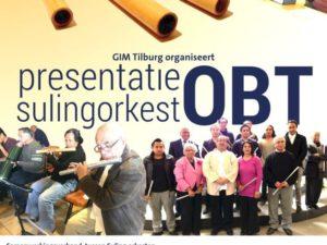 Flyer Presentatie Sulingorkest Tilburg OBT