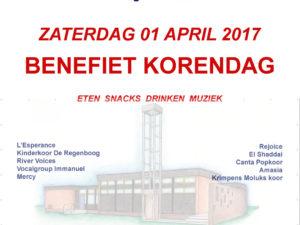 Benefiet Korendag 2017