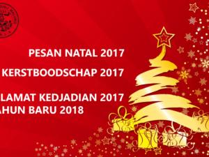 Pesan Natal – Kerstboodschap 2017