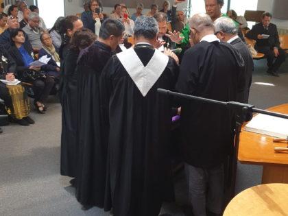 Bevestiging en intrede van Ds. Christoffel Isai Lumulisanay
