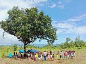 Het dondert op Ambon…..