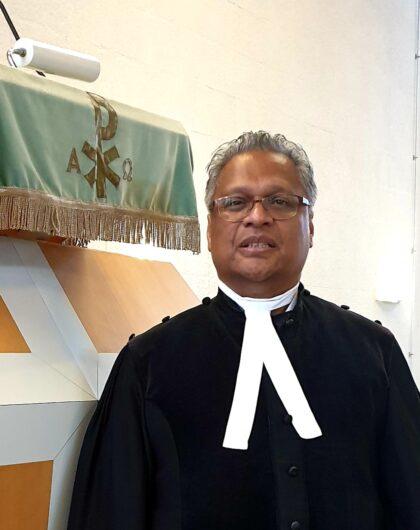Eredienst 19 april Voorganger Ds. Theo Pattinasarany