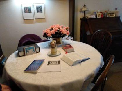 Huisliturgie 17-05-2020 Pdt. Alex Pembatjaan Alkitab / Schriftlezing  Johannes 16 : 16 – 24