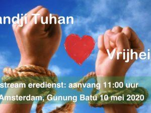 Live uitzending Eredienst 10-05-2020 Voorganger Nj. L. Huijzer-Wattimury