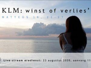 Youtube:Live uitzending Eredienst 23-08-2020 om 11.00 uur Voorganger Pdt. E.S. Patty