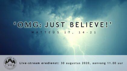 Youtube:Live uitzending Eredienst 30-08-2020 om 11.00 uur Voorganger Pdt. E.S. Patty