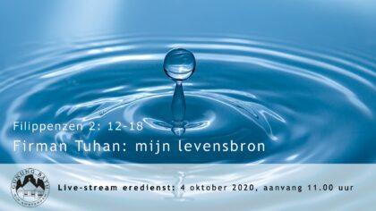 Live uitzending Eredienst 04-10-2020 Voorganger Ludia Huijzer-Wattimury