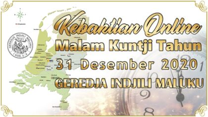 Kebaktian Online Kuntji Tahun 31-12-2020 djam 21.00 Geredja Indjiliku