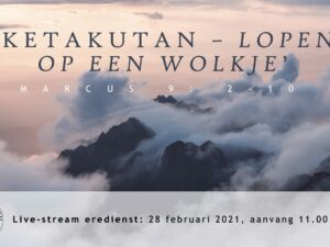 Live uitzending Eredienst 28-02-2021 om 11.00 Pdt. E.S. Patty