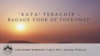 Live uitzending Goede Vrijdag 02-04-2021 voorganger Nj. L. Huijzer-Wattimury