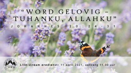 Live Stream Eredienst 11-04-2021 Pdt. E.S. Patty