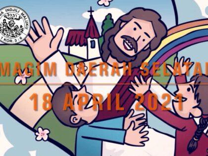 Online Zondagschoolvereniging MAGIM  gemeente Hatert 18 April 2021 vanaf 10.00 uur