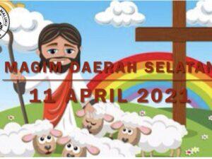 Online Zondagschoolvereniging MAGIM  gemeente Breda 10-04-2021