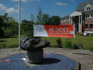 Wat gebeurde er op 29 mei 2021 NLDOET schoonmaak dag te Houten