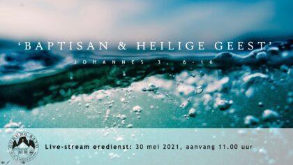 Live Stream Eredienst 30-05-2021 om 11.00 uur Pdt. E.S. Patty