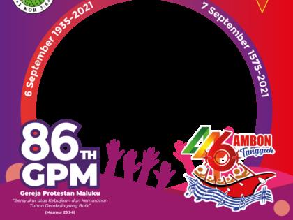 Kebaktian HUT GPM ke-86 Djemaat GPM Lateri 6 September 2021.