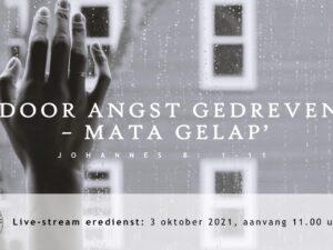 Live Stream Eredienst 3-10-2021 om 11.00 uur Nj. L. Huijzer-Wattimury